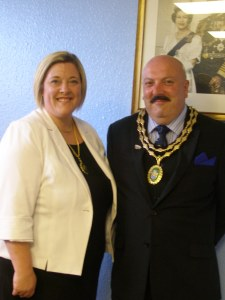 Mayor and Mayoress Clements