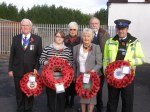 Fazeley's 2012 Remembrance Sunday civic party